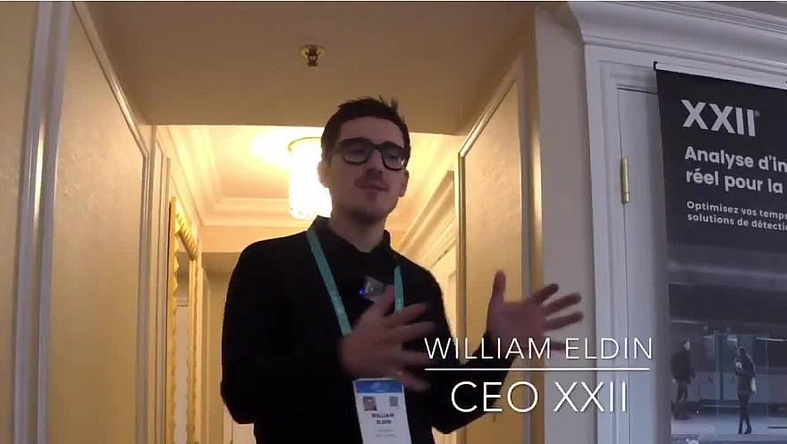 CES 2020 Las Vegas : William Eldin nous présente XXII group #CES2020 de #LasVegas @jblefevre60 @Ym78200 @pierrepinna @ipfconline1 @labordeolivier @tewoz @PironTristan @MichaGUERIN @XXII_GROUP @williameldin