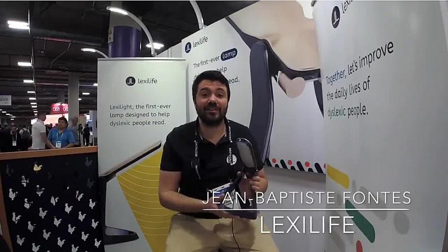 CES 2020 Las Vegas : ITW Jean-Baptiste Fontes présente Lexilife #CES2020 de #LasVegas @jblefevre60 @Ym78200 @pierrepinna @ipfconline1 @labordeolivier @tewoz @PironTristan @MichaGUERIN @lexilife_fr